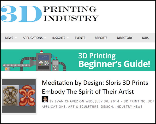 3D Printing Industry article screenshot